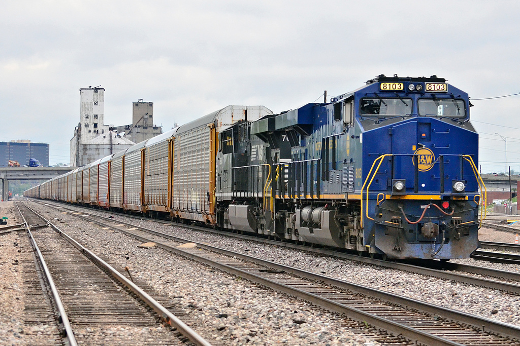 NS ES44AC 8103 / North Kansas City, MO — Trainspo
